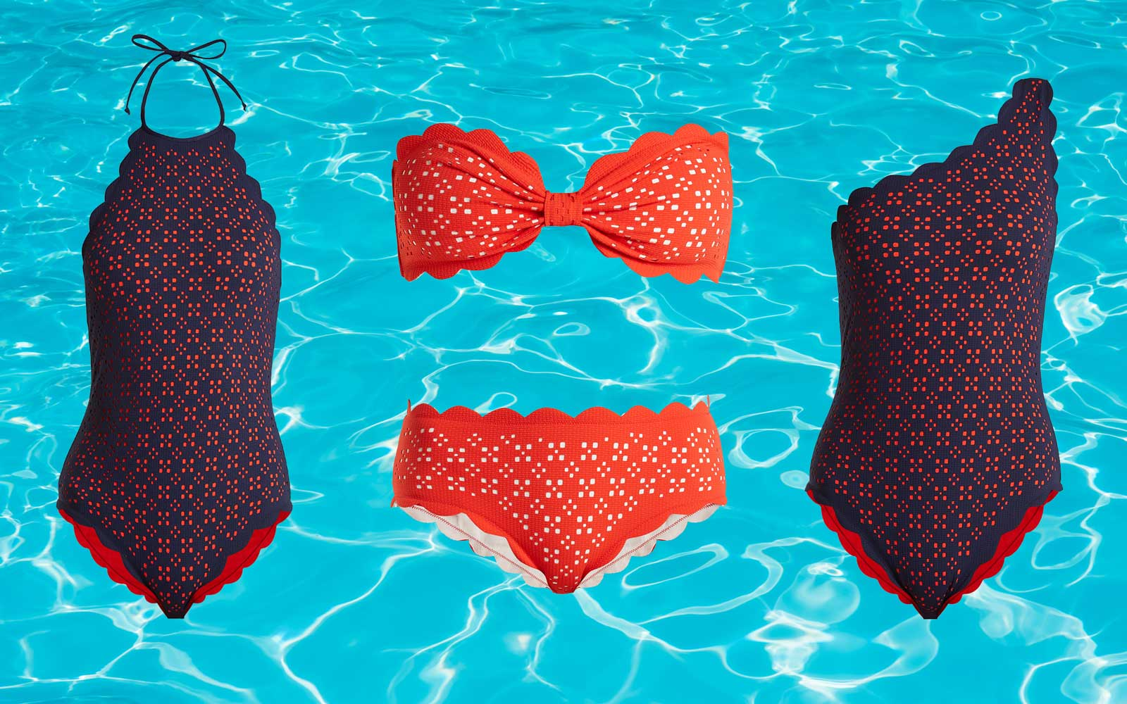 Where to Shop Scalloped Swimsuits