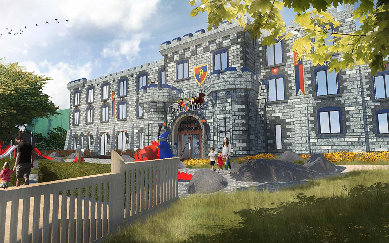 U.K. Legoland's New Castle Hotel Will Make You Feel Like Royalty