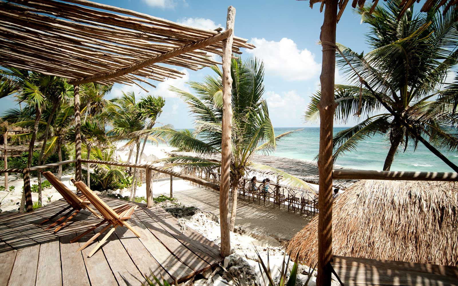 Beach Access, Papaya Playa, Tulum