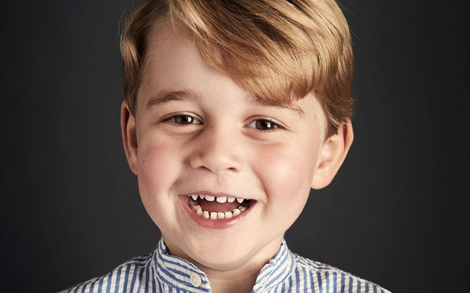 Prince George's New Birthday Portrait Is Here and His Toothy Smile Is Pure Joy