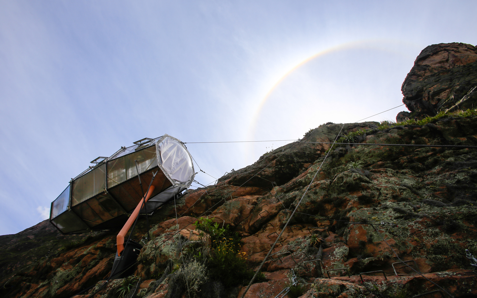 This Glass Suite on a Peruvian Mountainside Is the Ultimate Room With a View