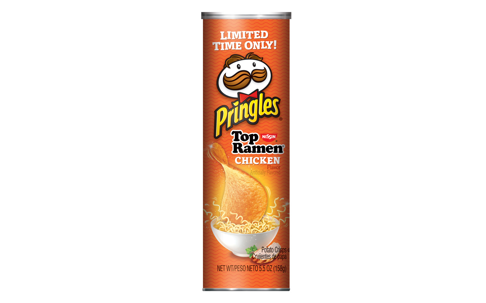 Ramen-flavored Pringles Are the Snack Your College Dorm Was Lacking