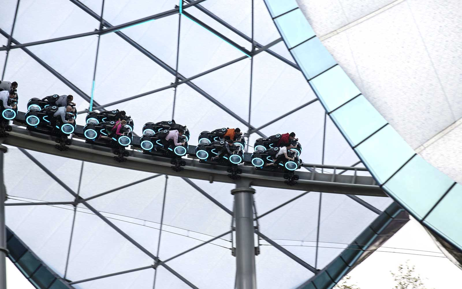 Get Excited The Tron Roller Coaster Is Coming To Disney