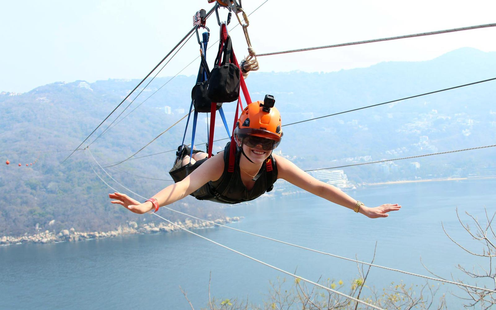 The World's Largest Over-water Zip Line Is in Acapulco