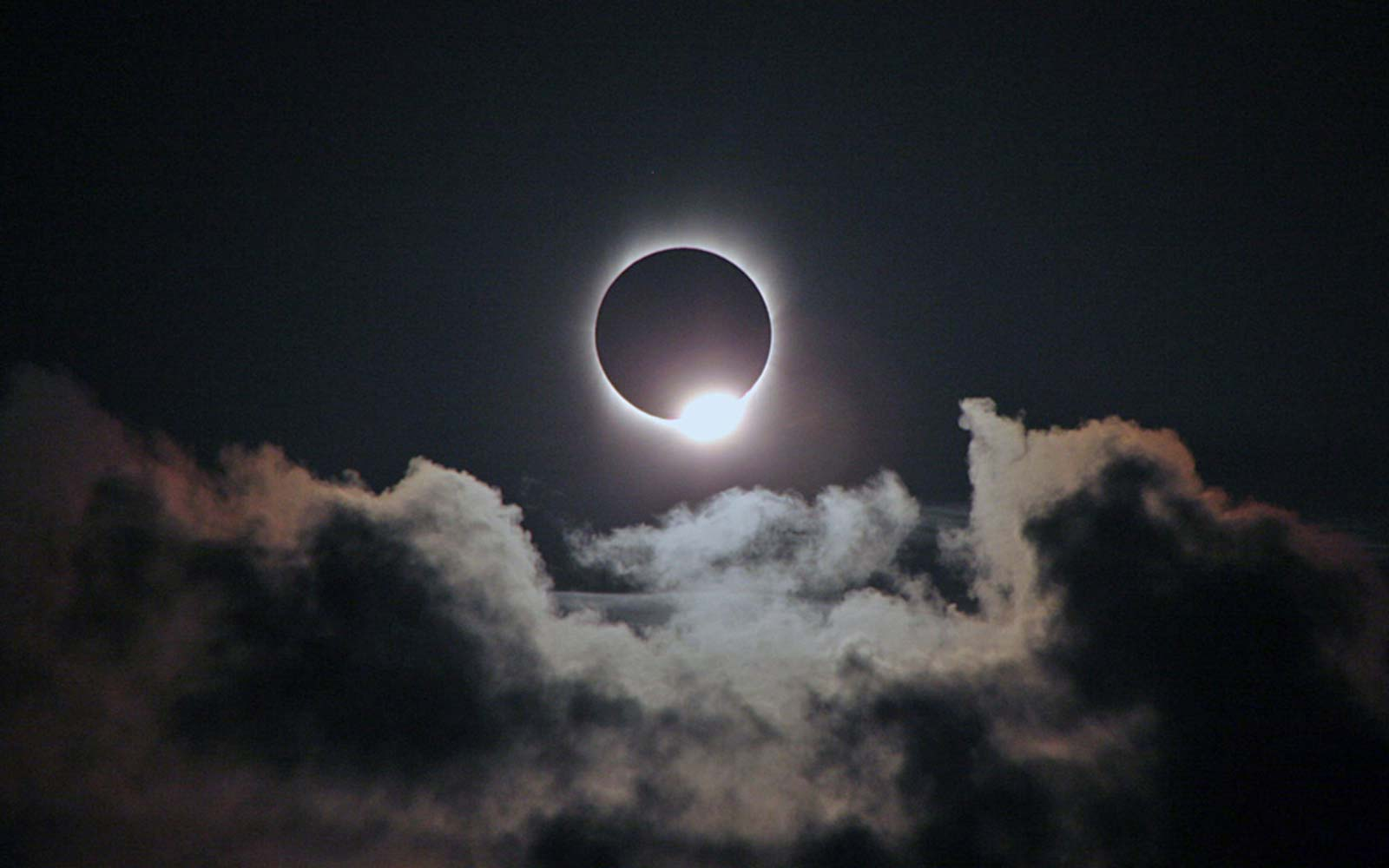 Stages timeline of Solar Eclipse Sun Viewing Diamond Ring