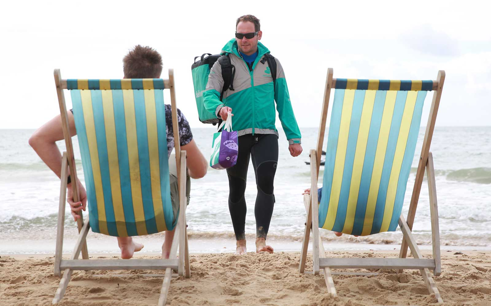 Jet Ski Food Delivery: Deliveroo Launches Beach Service