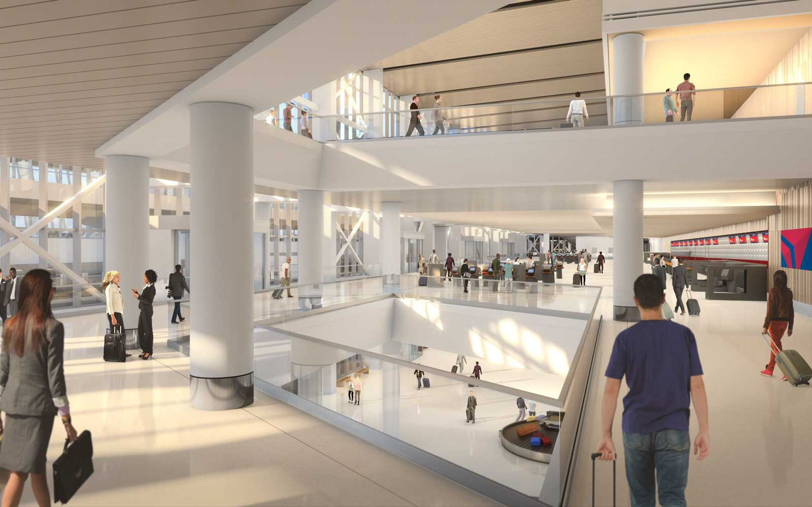 LaGuardia Airport Renderings