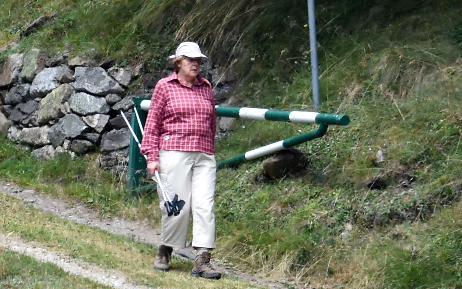 Angela Merkel Has Been Wearing the Same Vacation Outfit for the Last Five Years