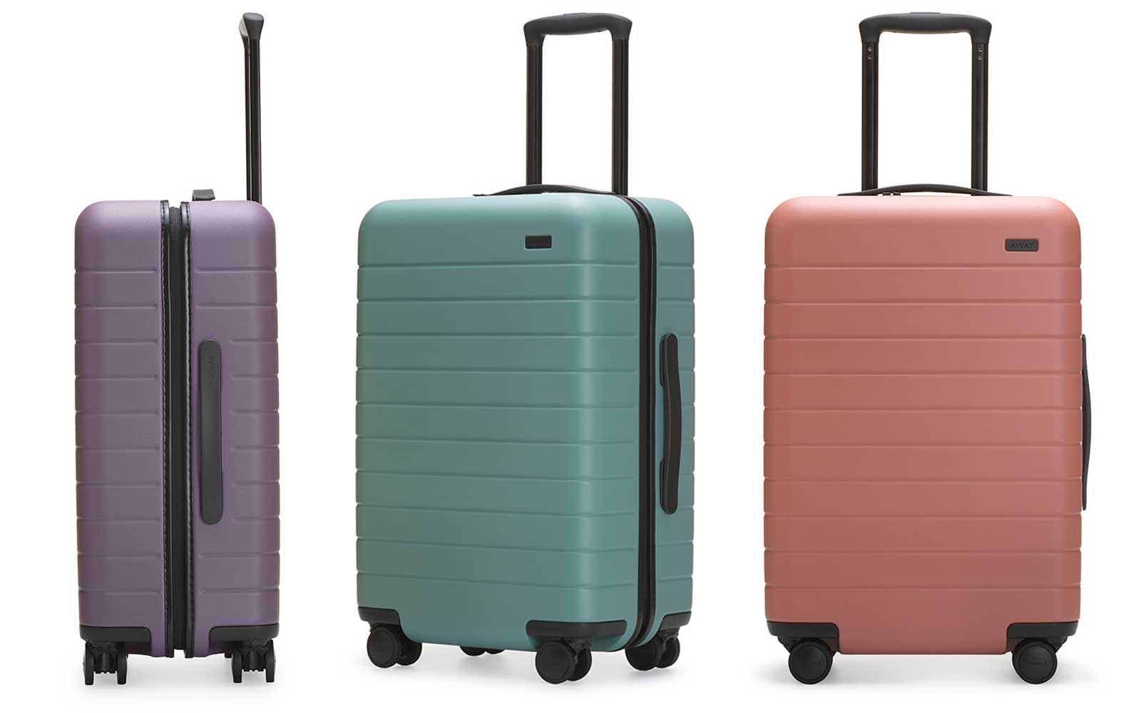 Rashida jones designed the prettiest pastel luggage for Can you take jewelry in your carry on baggage