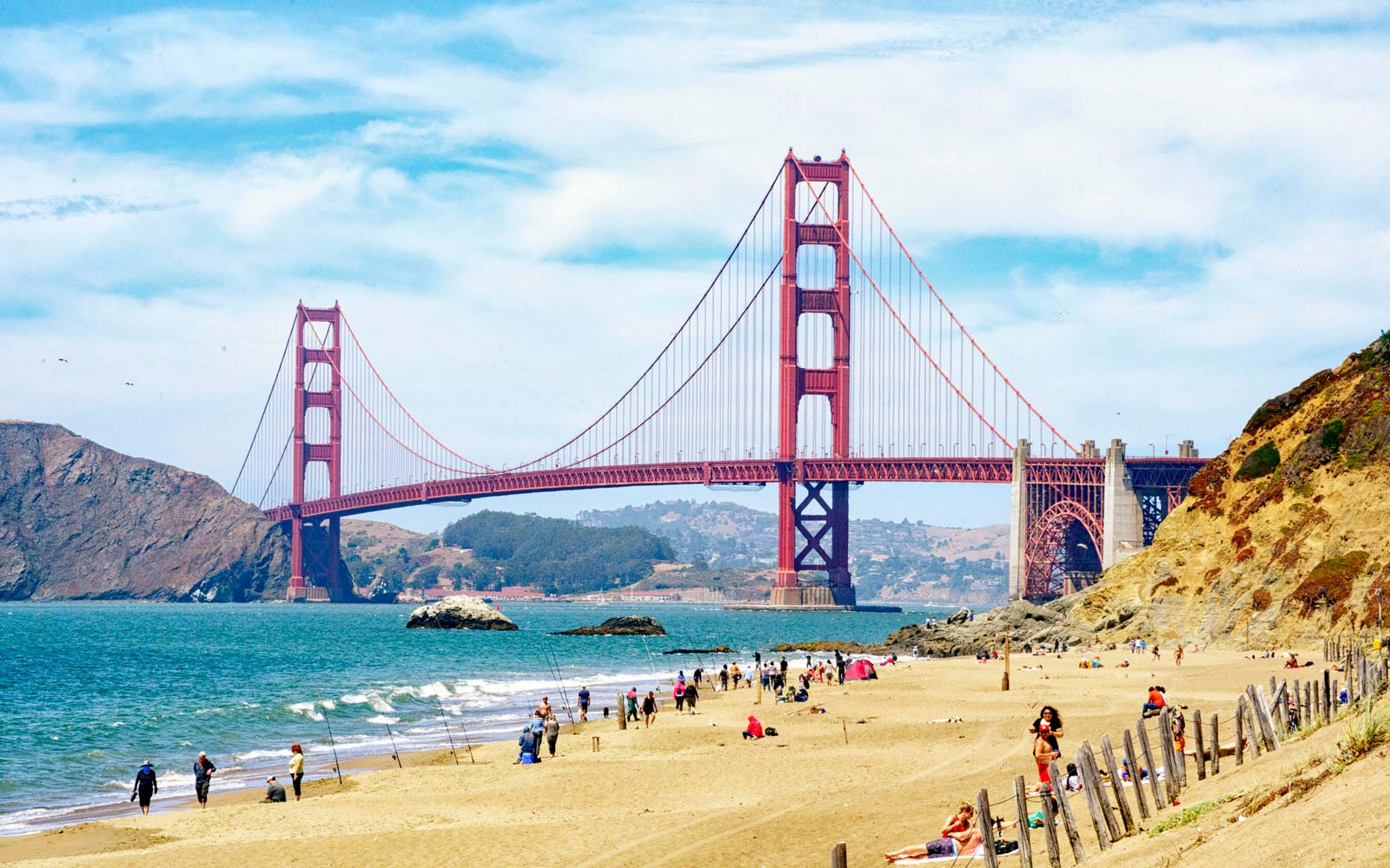 3 Ways to Spend a Day at Baker Beach