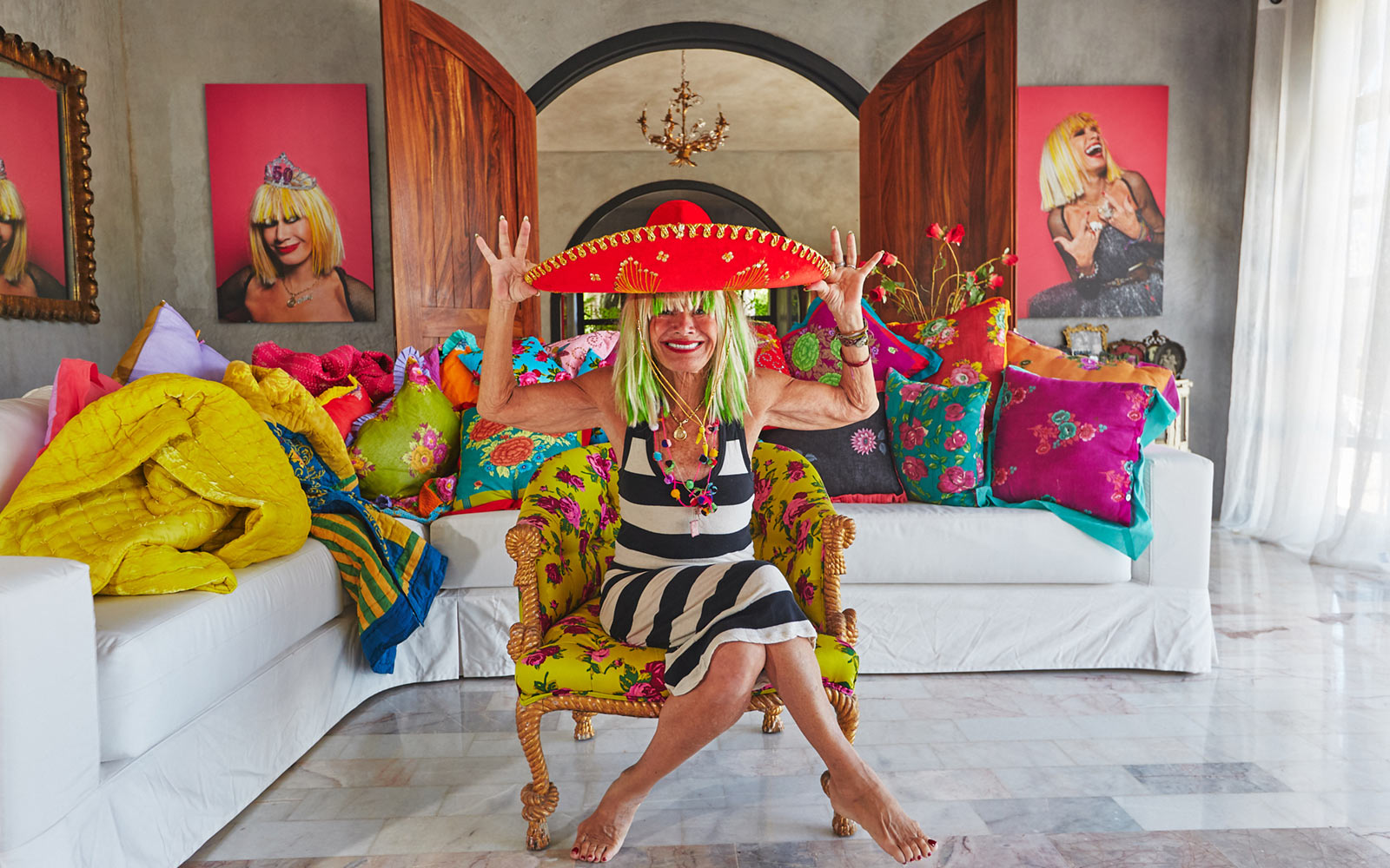 You Can Rent Betsey Johnson's Incredible Mexican Villa on Airbnb