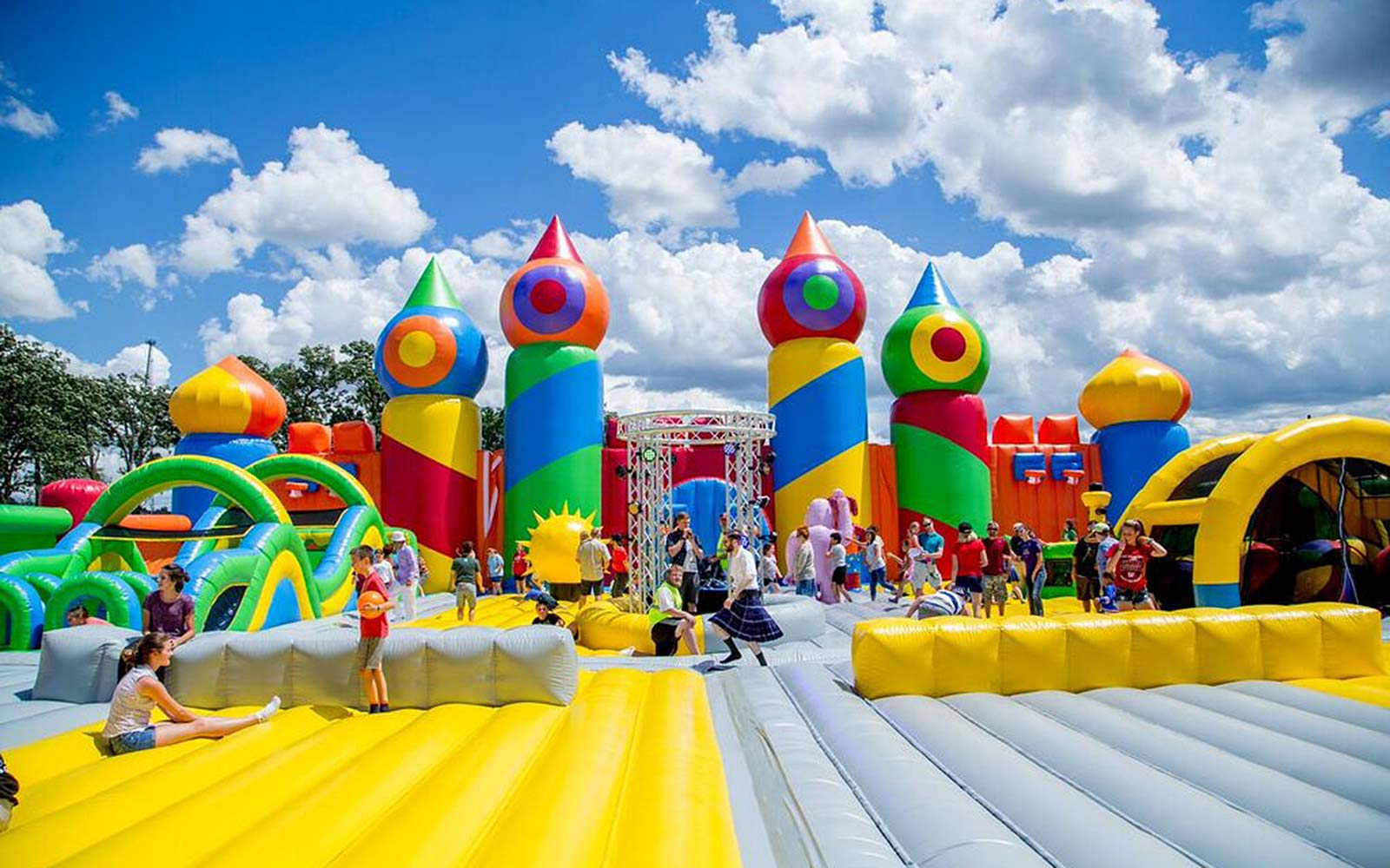 The World's Largest Bounce House May Be Coming to a City Near You