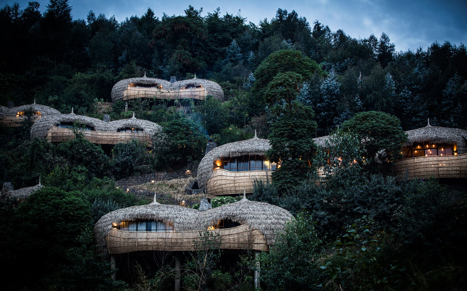 You Can Sleep in a Luxury Treehouse in the Middle of a Volcano in Africa