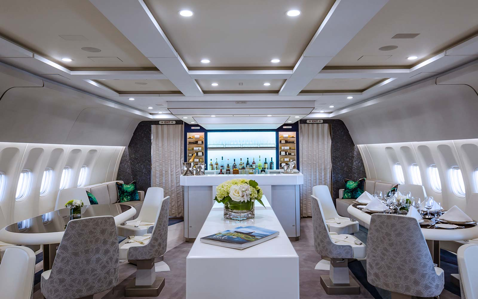Crystal Cruises AirCruises Skye Boeing 777 Luxury Airline