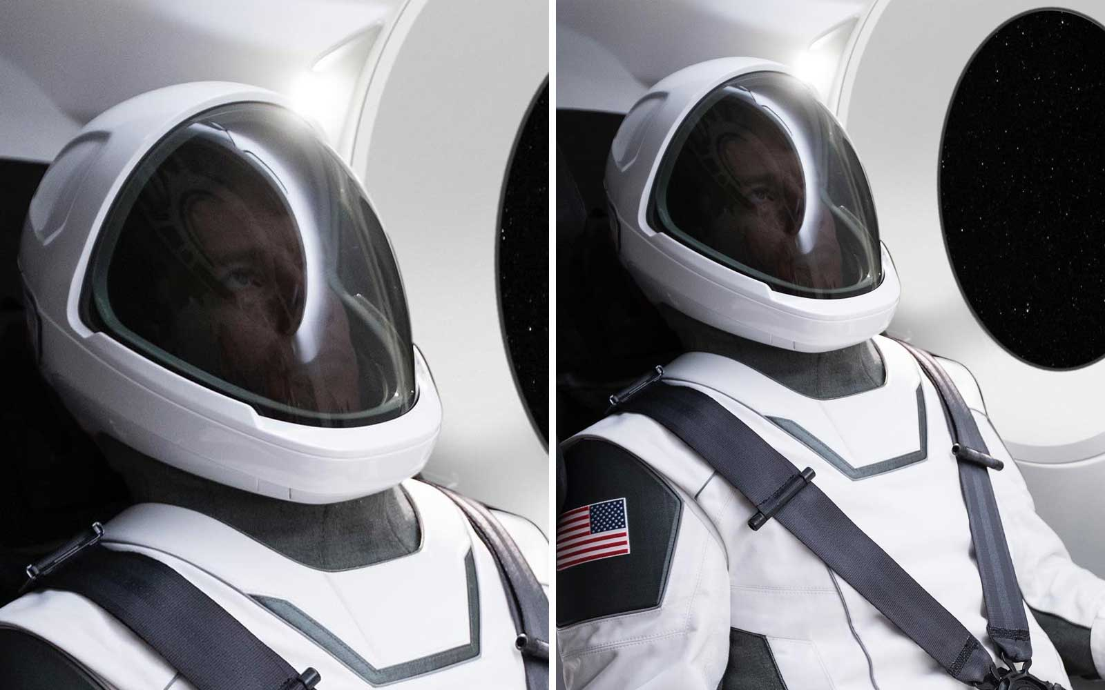Elon Musk Revealed His SpaceX Space Suits and Astronauts Have Never Looked Cooler