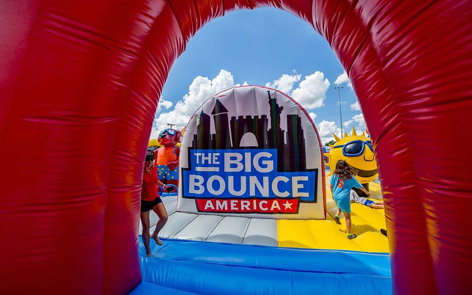 Big Bounce Castle America Largest House Tour Balloon