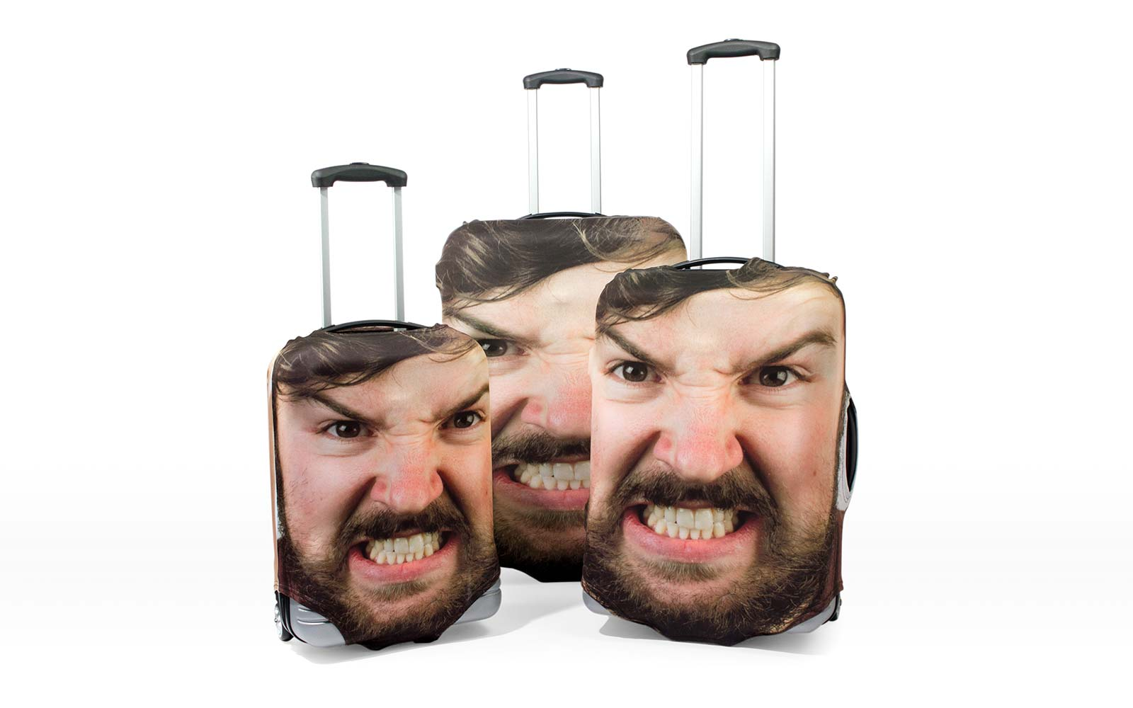 Firebox Head Case Face Travel Luggage