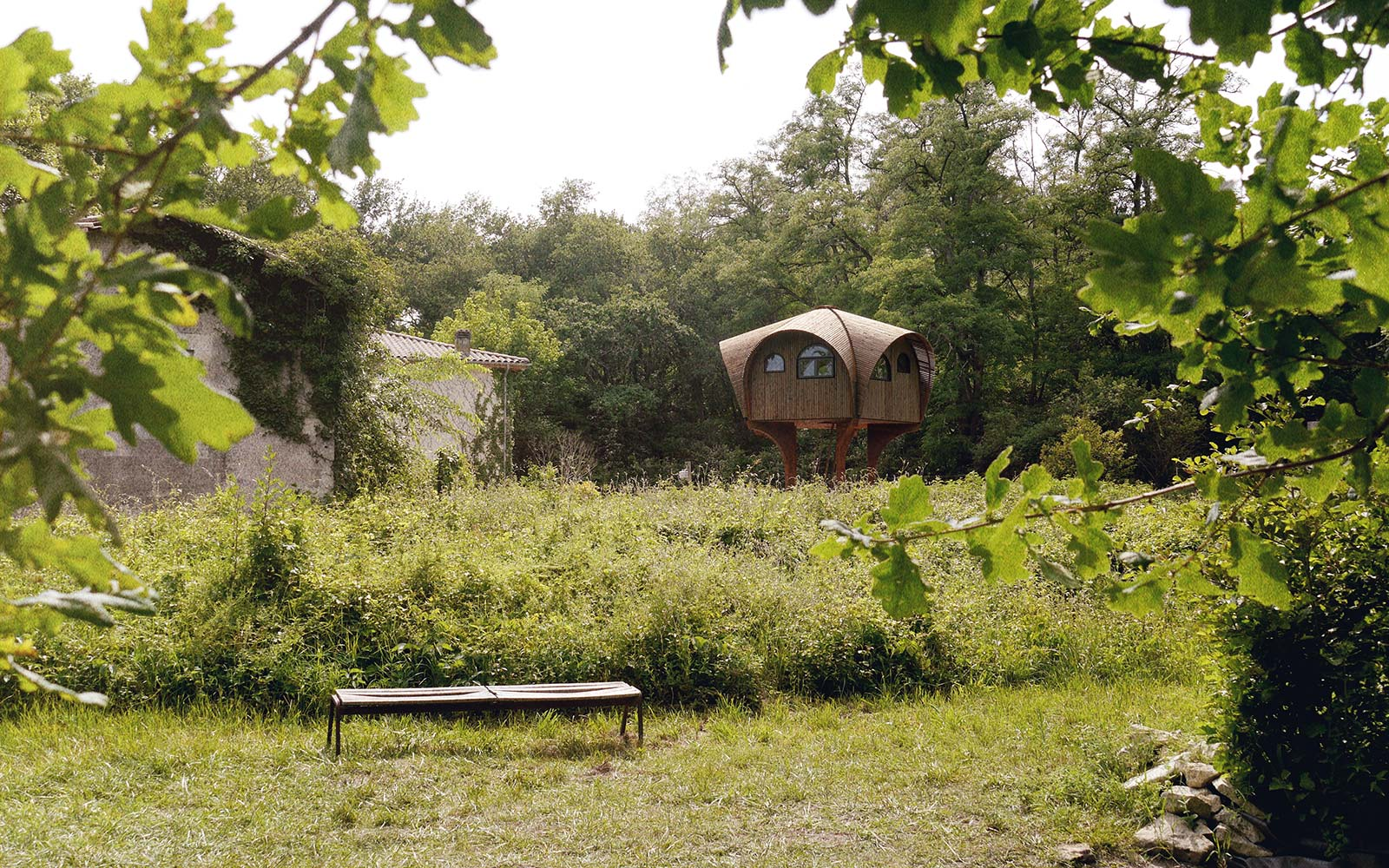 Refuges Periurbains Le Haut Perche Bordeaux Free Holiday Cabin France