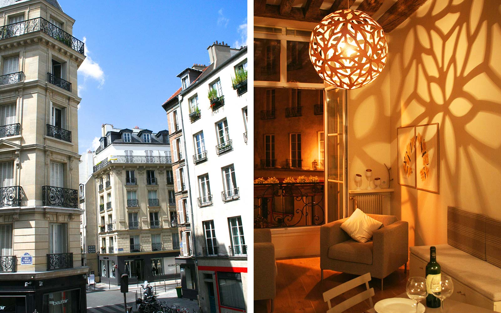 Airbnb Vacation Holiday Rental Paris France Marais
