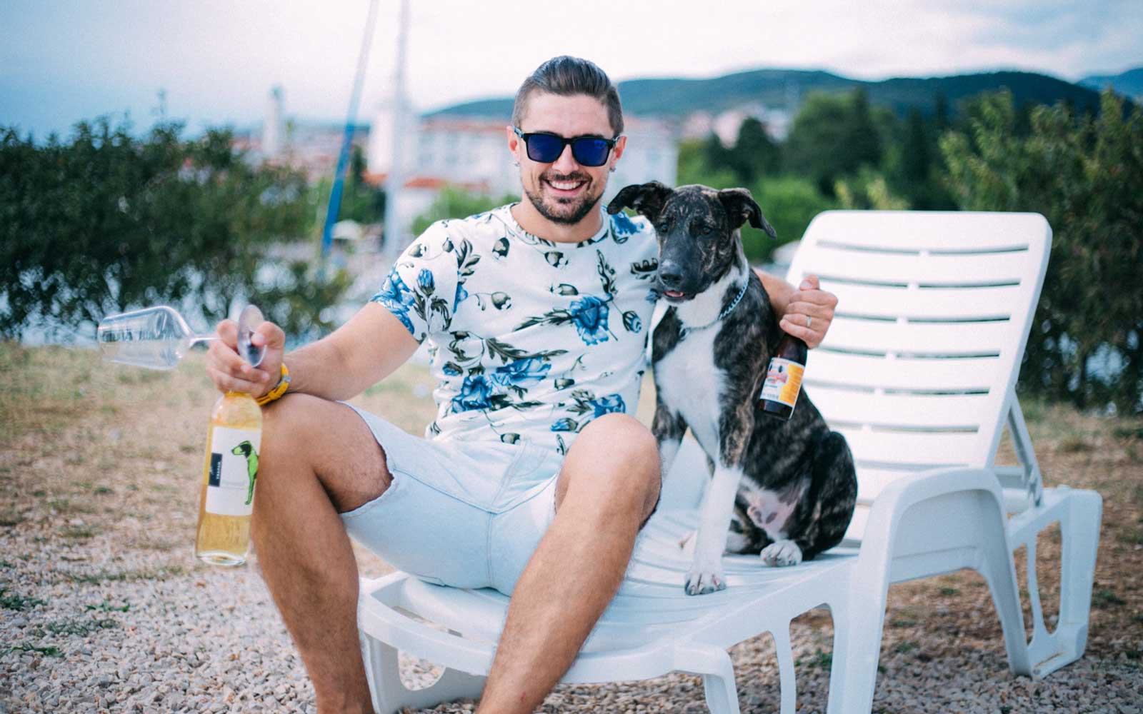 There's a Beach Bar in Croatia That Serves Beer for Dogs