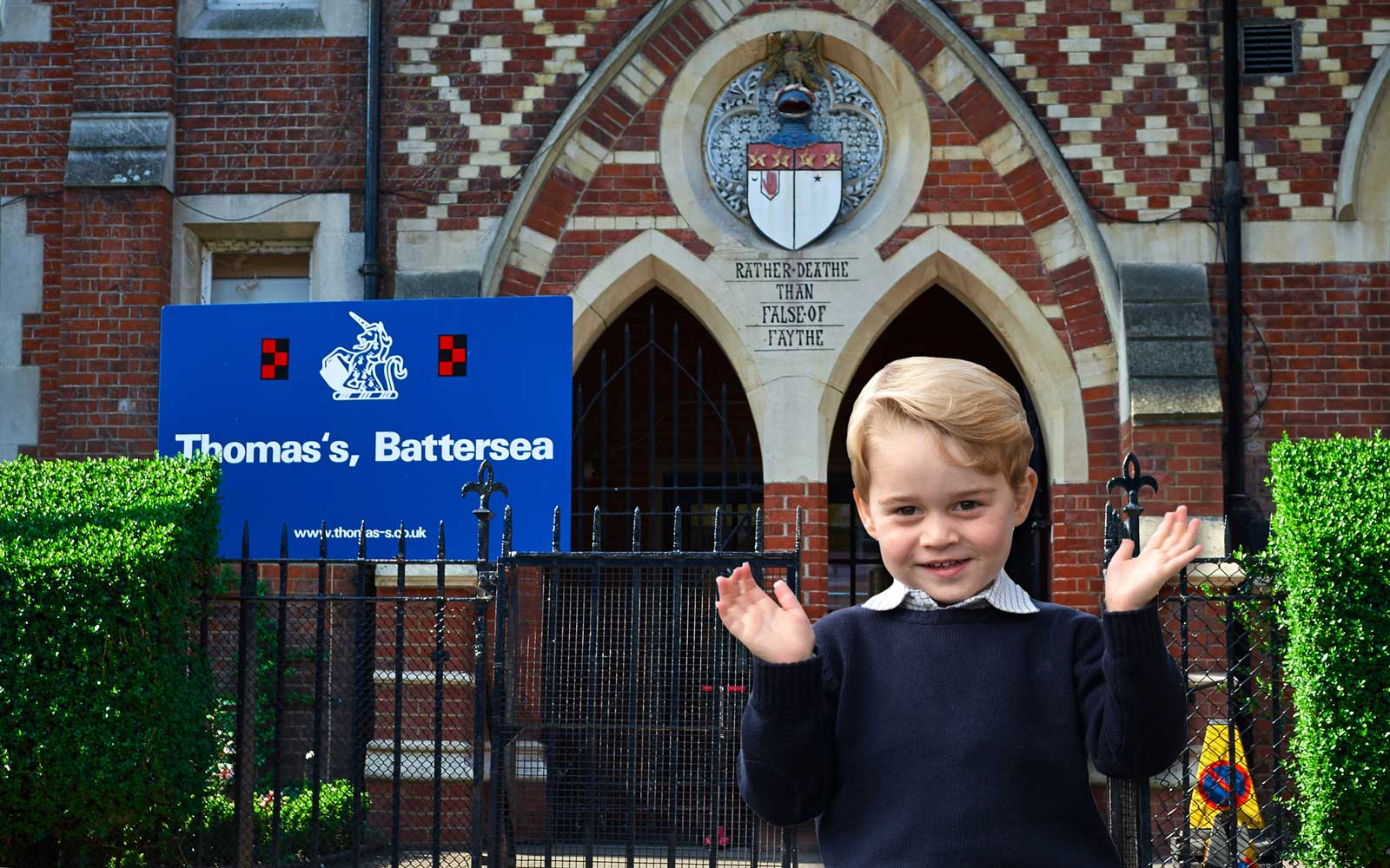 Where Prince George Is Heading to School This September