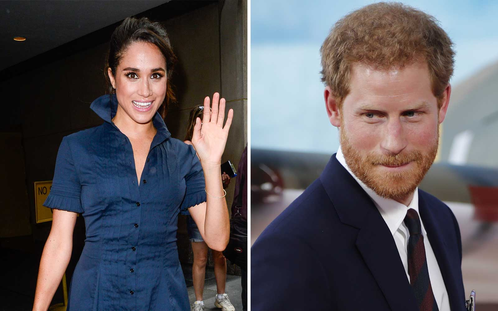 Prince Harry Takes Girlfriend Megan Markle to Victoria Falls