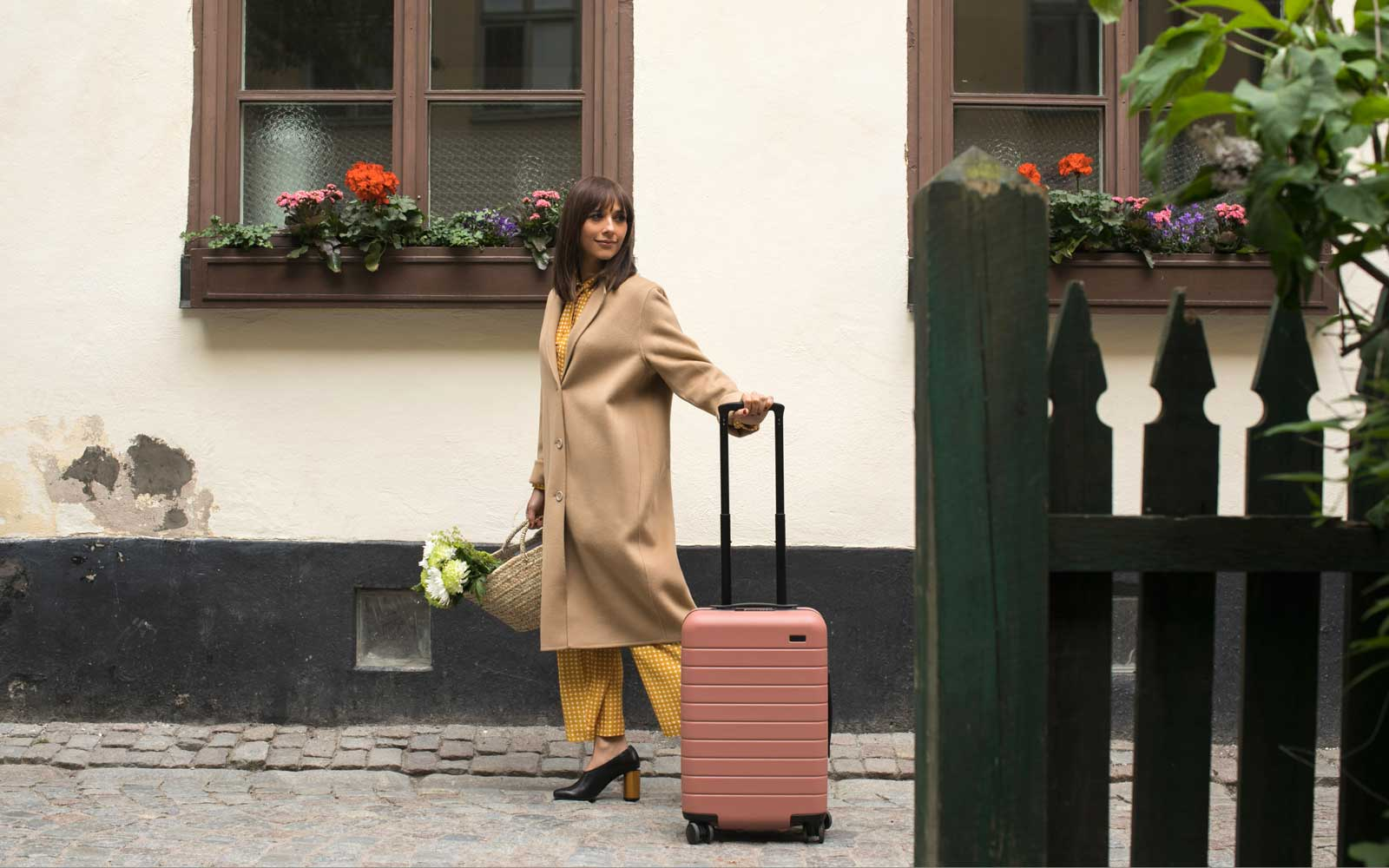 Rashida Jones Designed the Prettiest Pastel Luggage Collection for Away