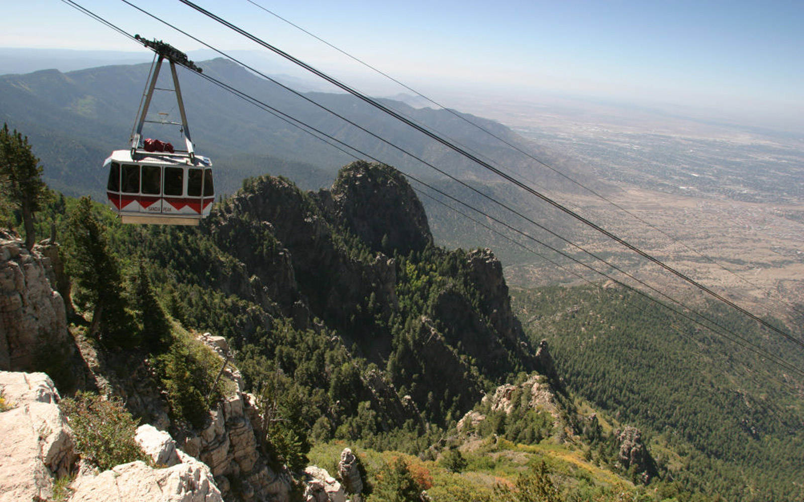 Sandia Peak Tramway. (Photo by: Jeffrey Greenberg/UIG via Getty Images)