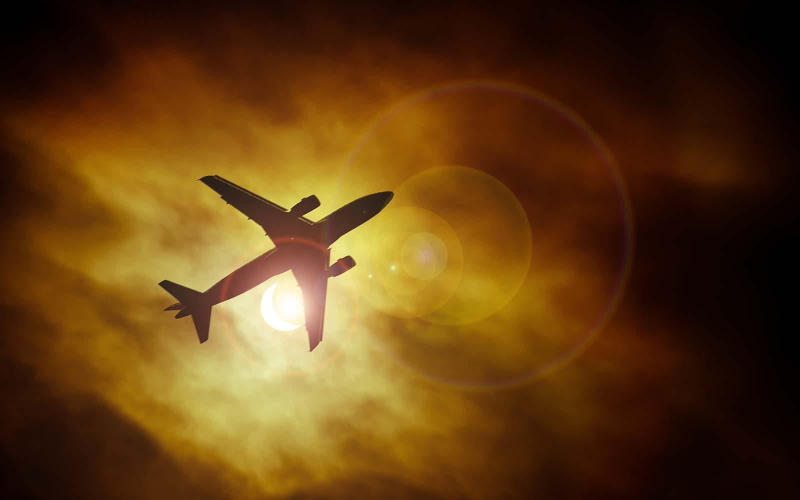 Flight Follows the Path of the Eclipse and Tickets Are Still Available