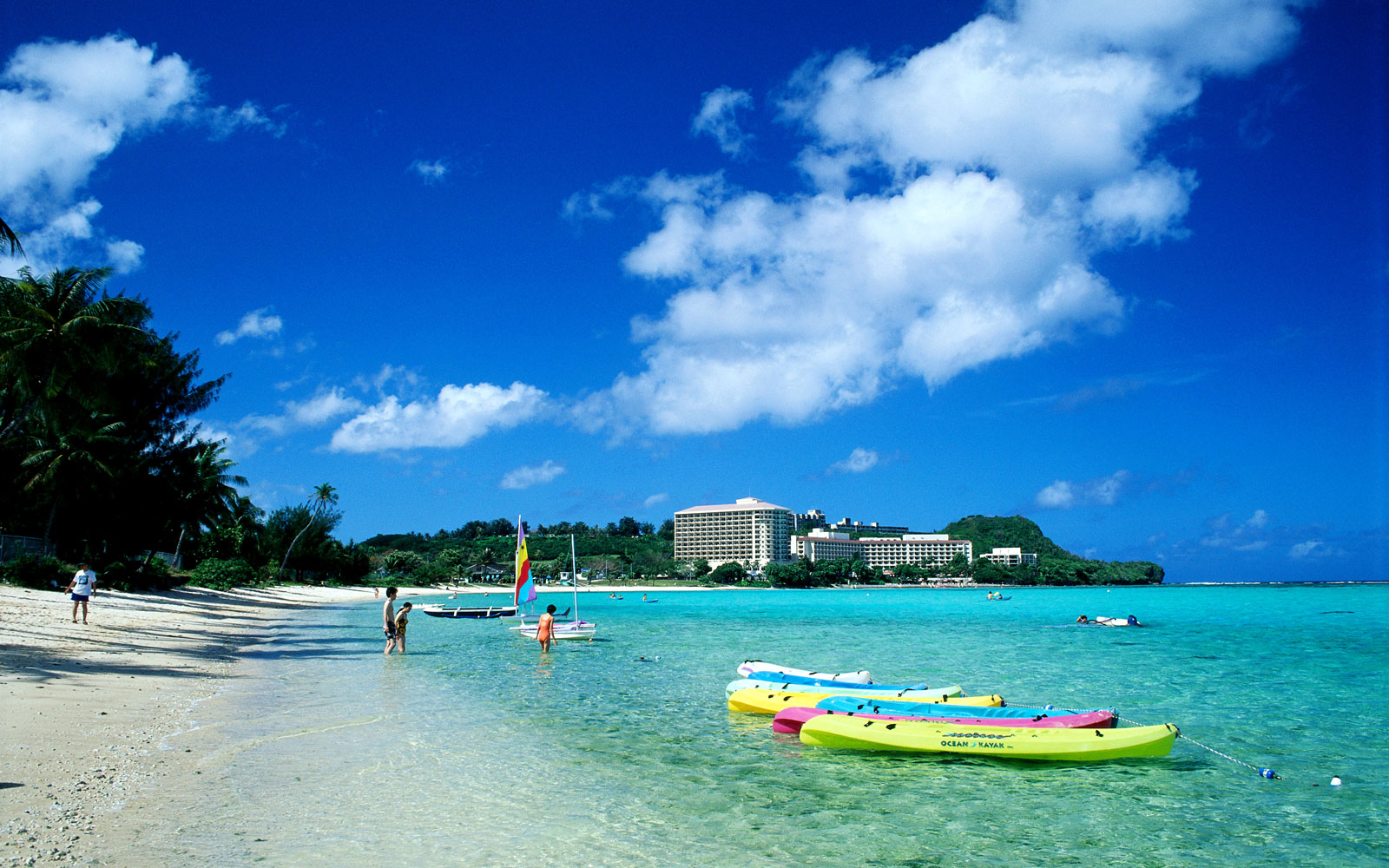Guam Tourists Continue to Arrive Despite Nuclear Threat