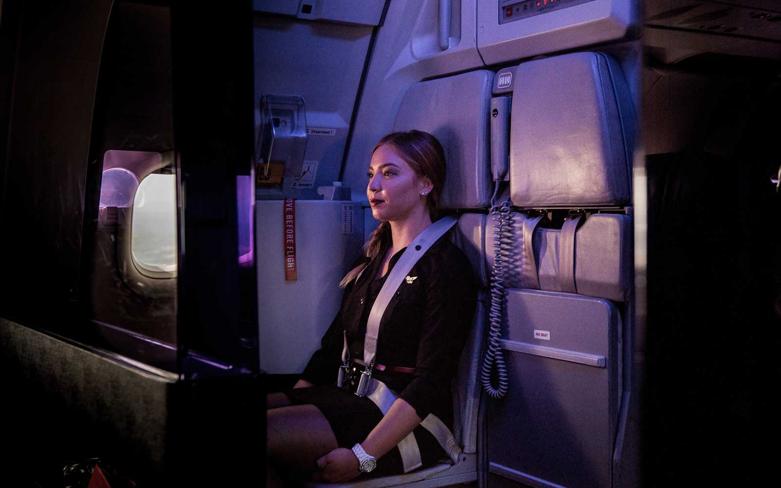 Virgin America Flight Attendant Photographer
