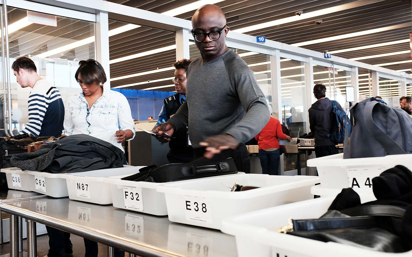This Airport Has Introduced Self-cleaning Trays at Security