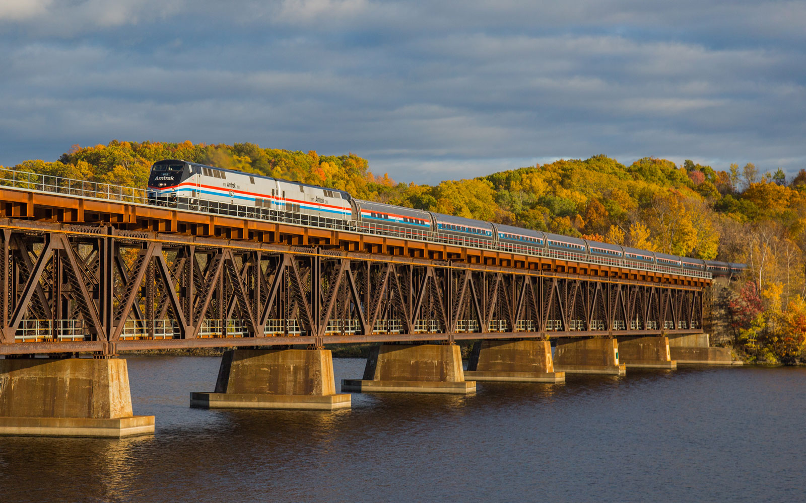 How to Take a Scenic Fall Foliage Trip on Amtrak