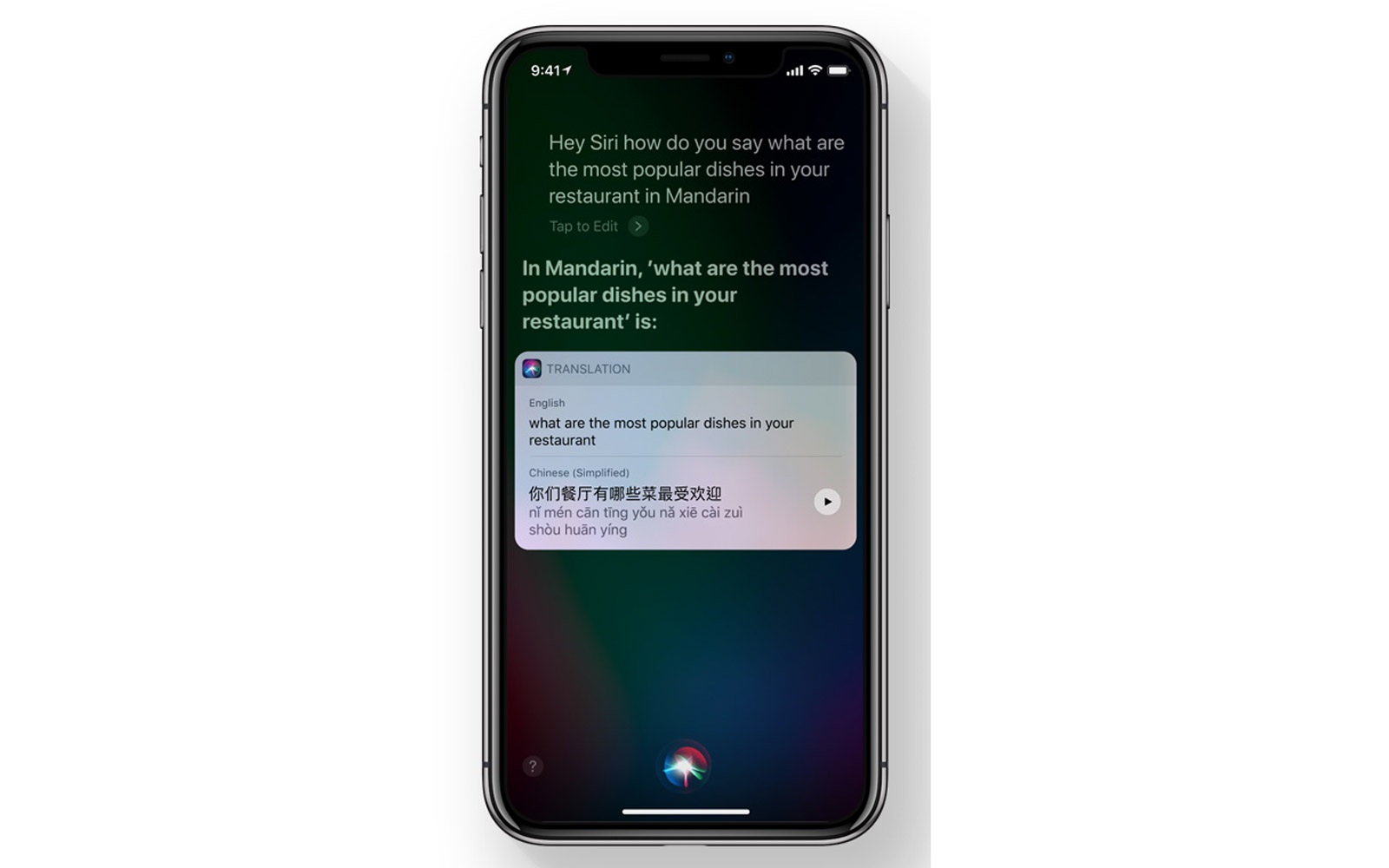 New translation feature on Apple's iOS 11
