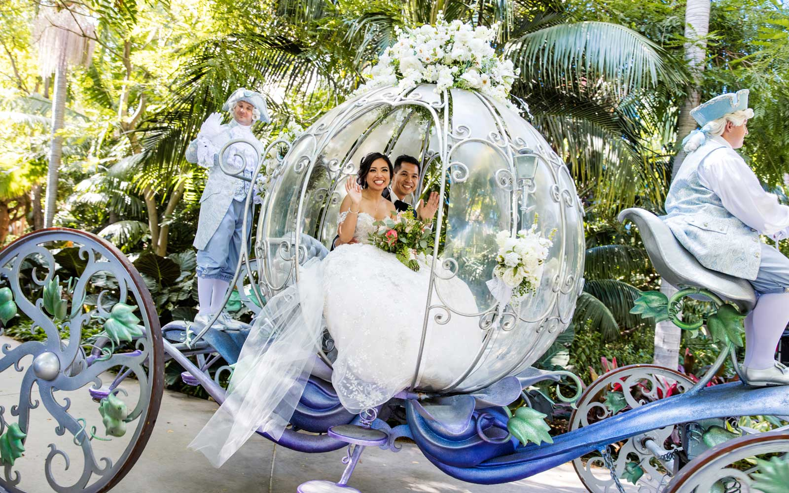 This Magical Disney Wedding Was a Real-life Fairy Tale