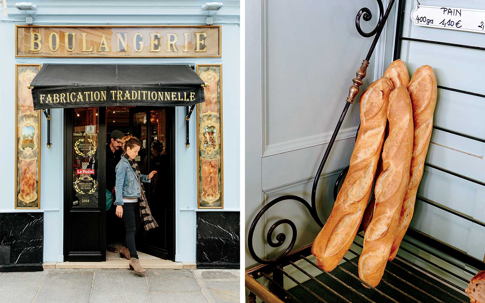 Du Pain et des Idees and Baguettes from Boulangerie Bo