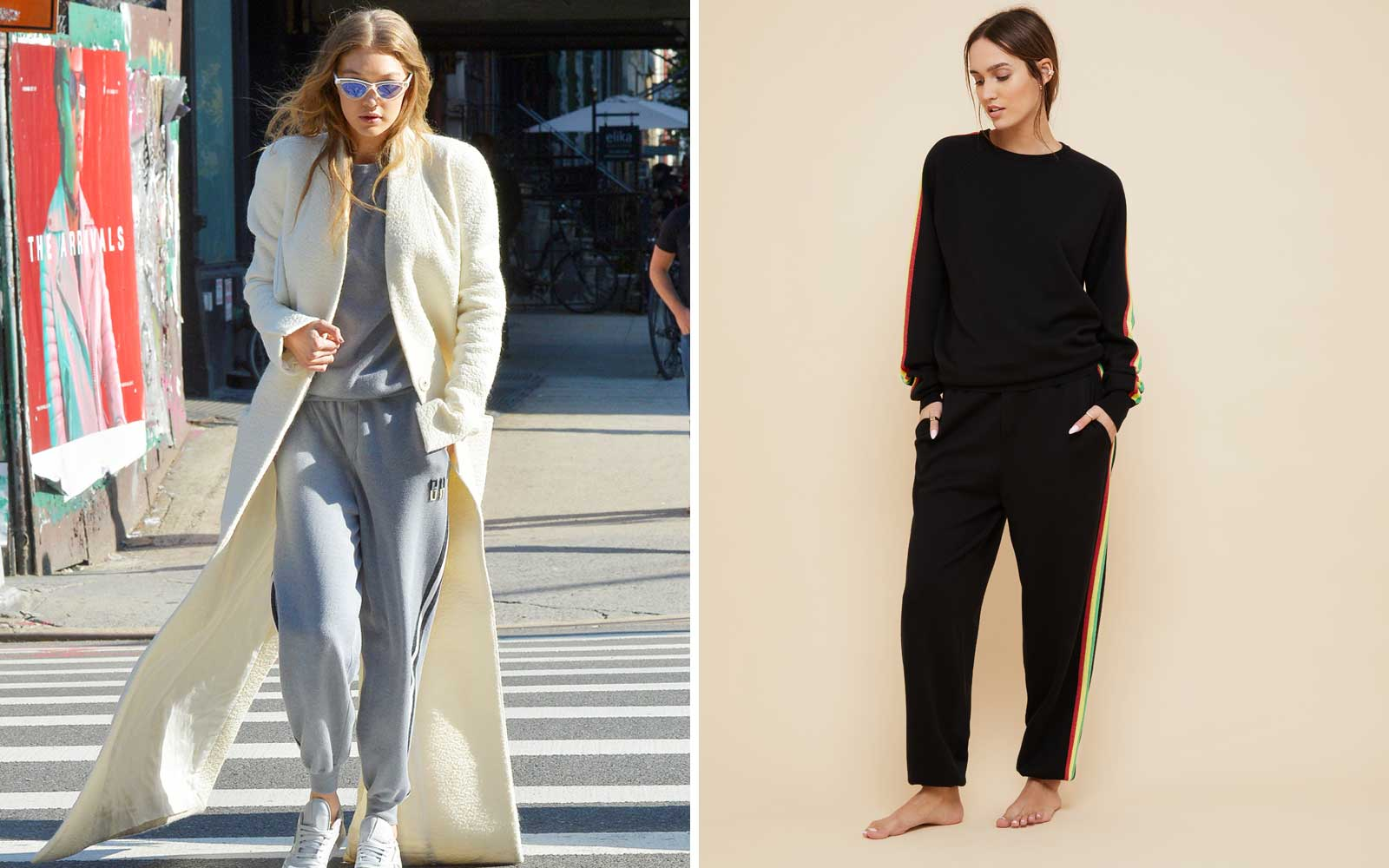 J.Lo and Gigi Hadid Love This Travel-friendly Tracksuit