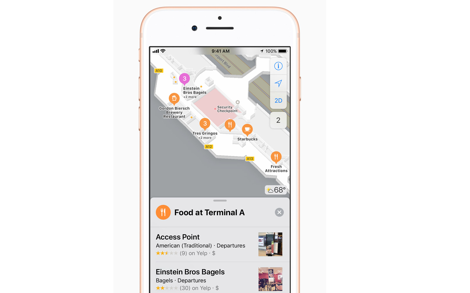 New navigation feature on Apple's iOS 11