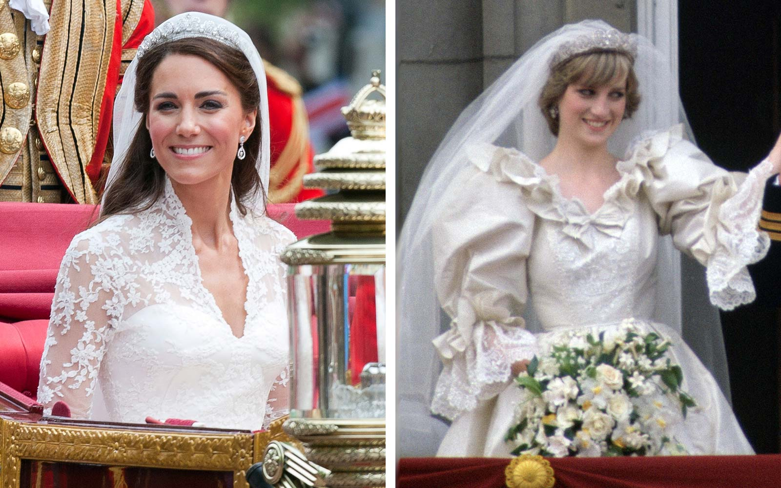 The Perfumes Kate Middleton and Princess Diana Wore on Their Wedding Days