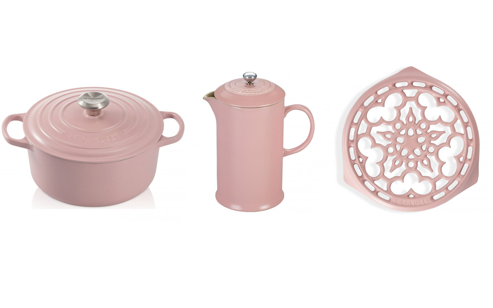 Le Creuset Launched a Gorgeous New Line of Blush Pink Cookware