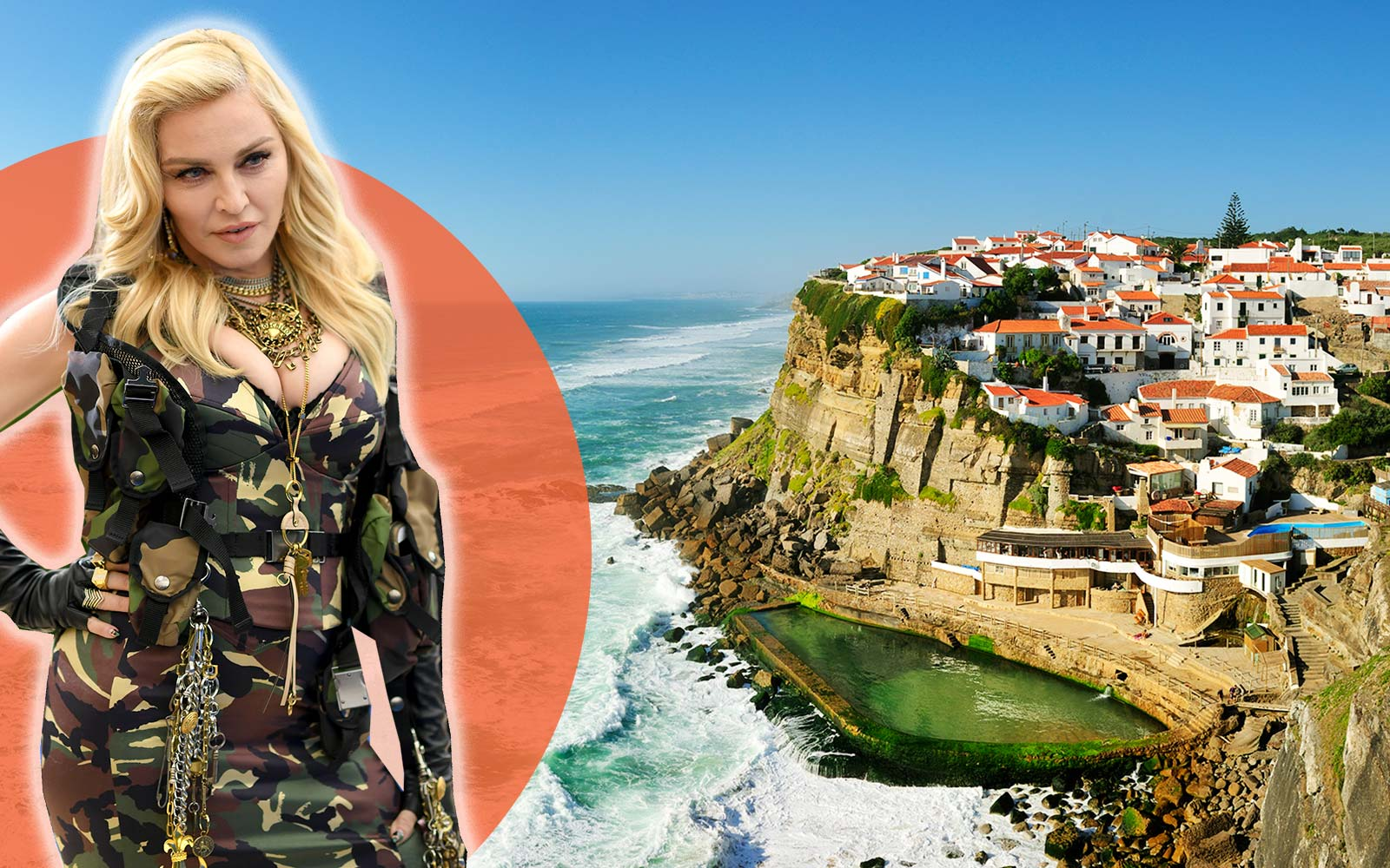 Madonna Has Moved to Lisbon, Portugal