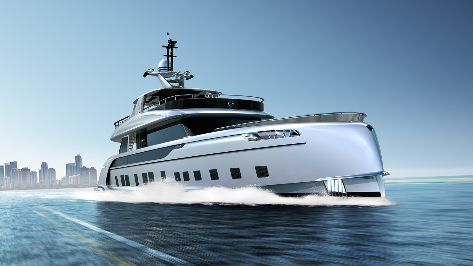 You Can Now Cruise Through the Ocean on a $16-million Porsche Yacht