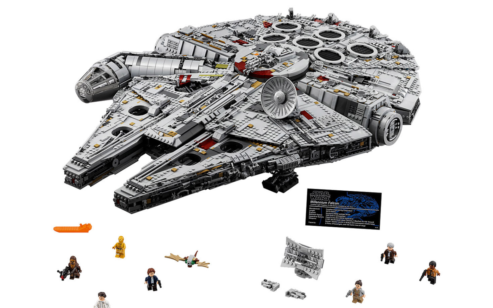Star Wars Millennium Falcon Is Biggest LEGO Set Ever