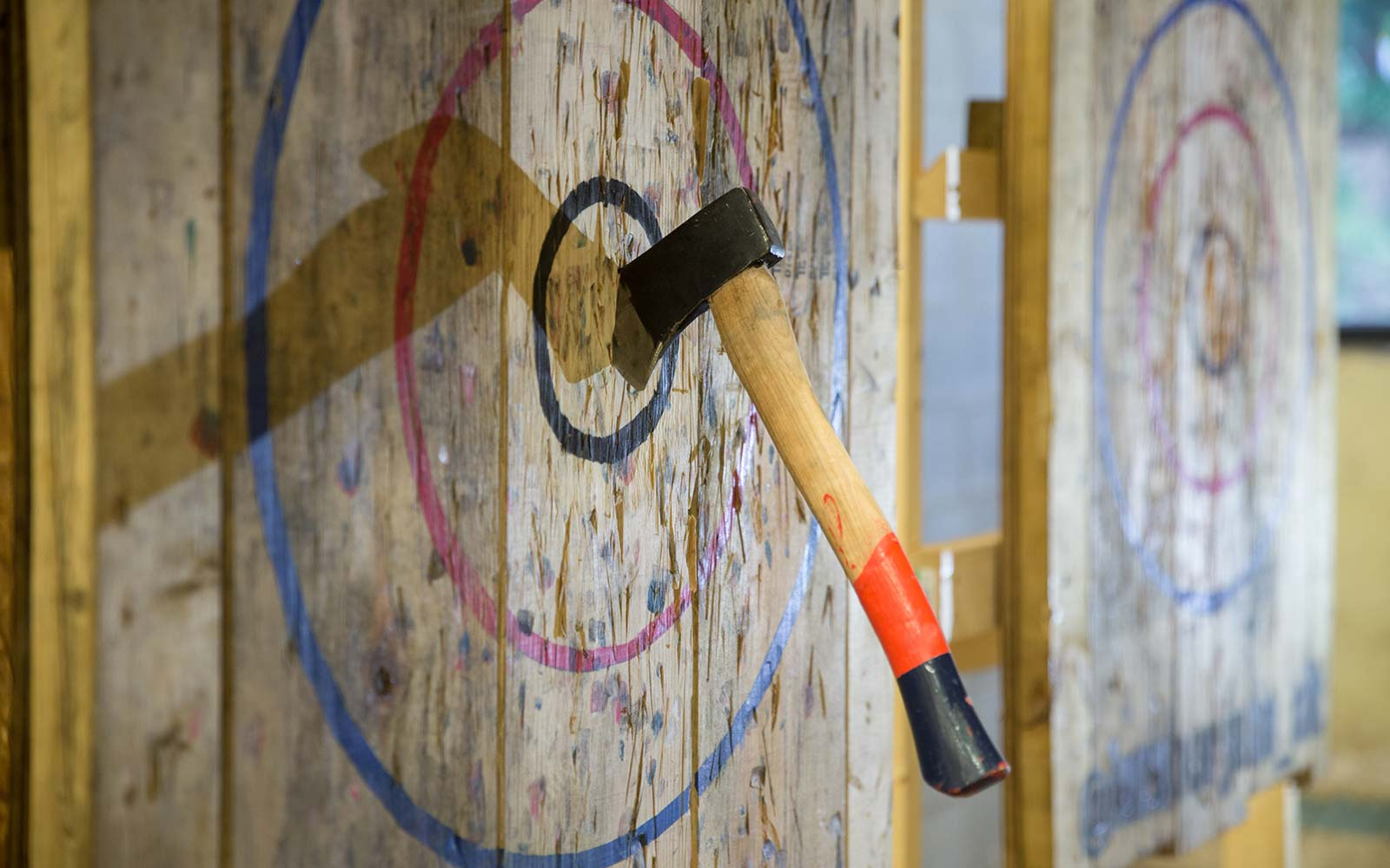 You Can Now Try Axe-throwing at These Bars