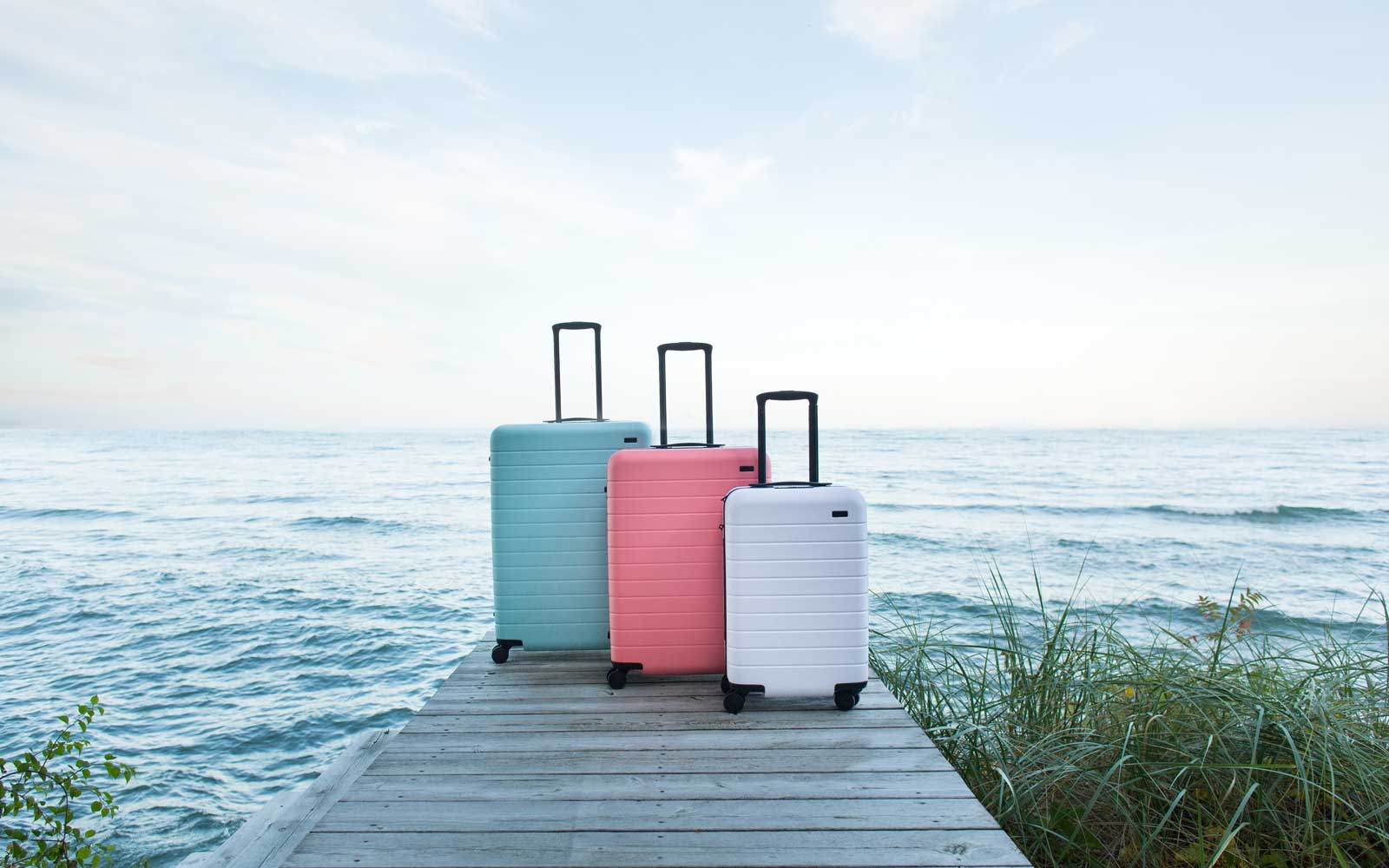 Away's New Collaboration With Gray Malin Lines Its Luggage With Travel Photography