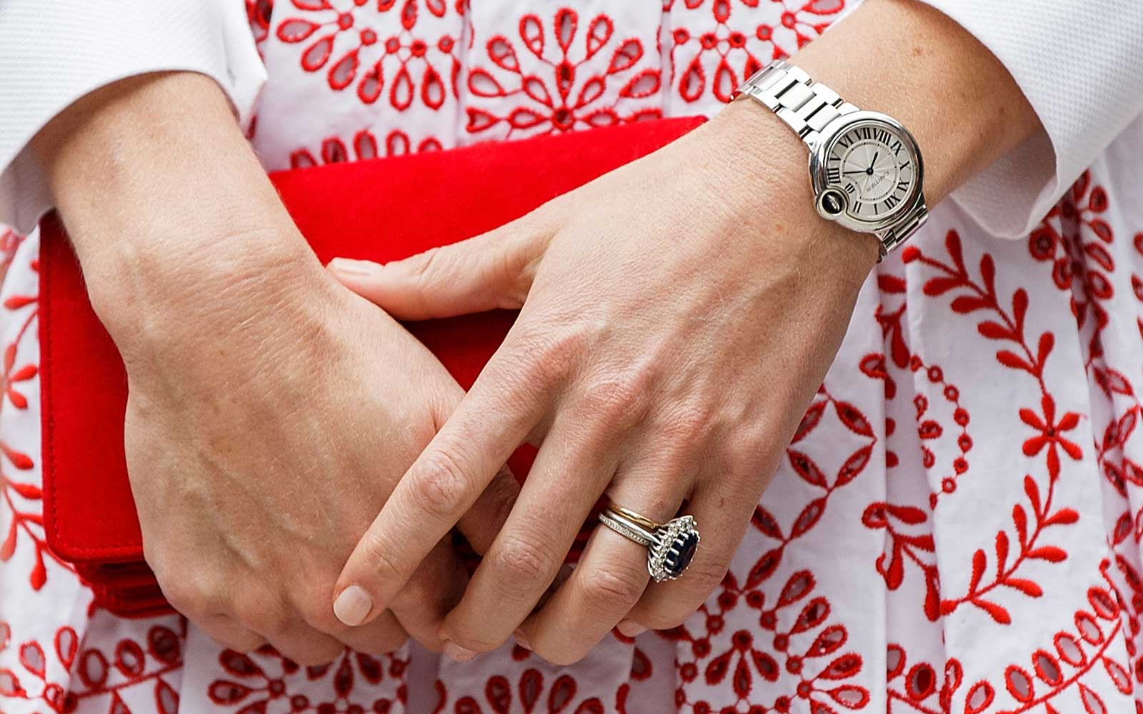 Why You'll Never See Members of the British Royal Family Wearing Red Nail Polish