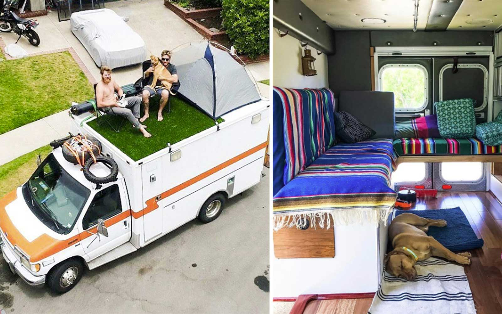 This Man Travels Around the World in a Tricked Out Ambulance Van