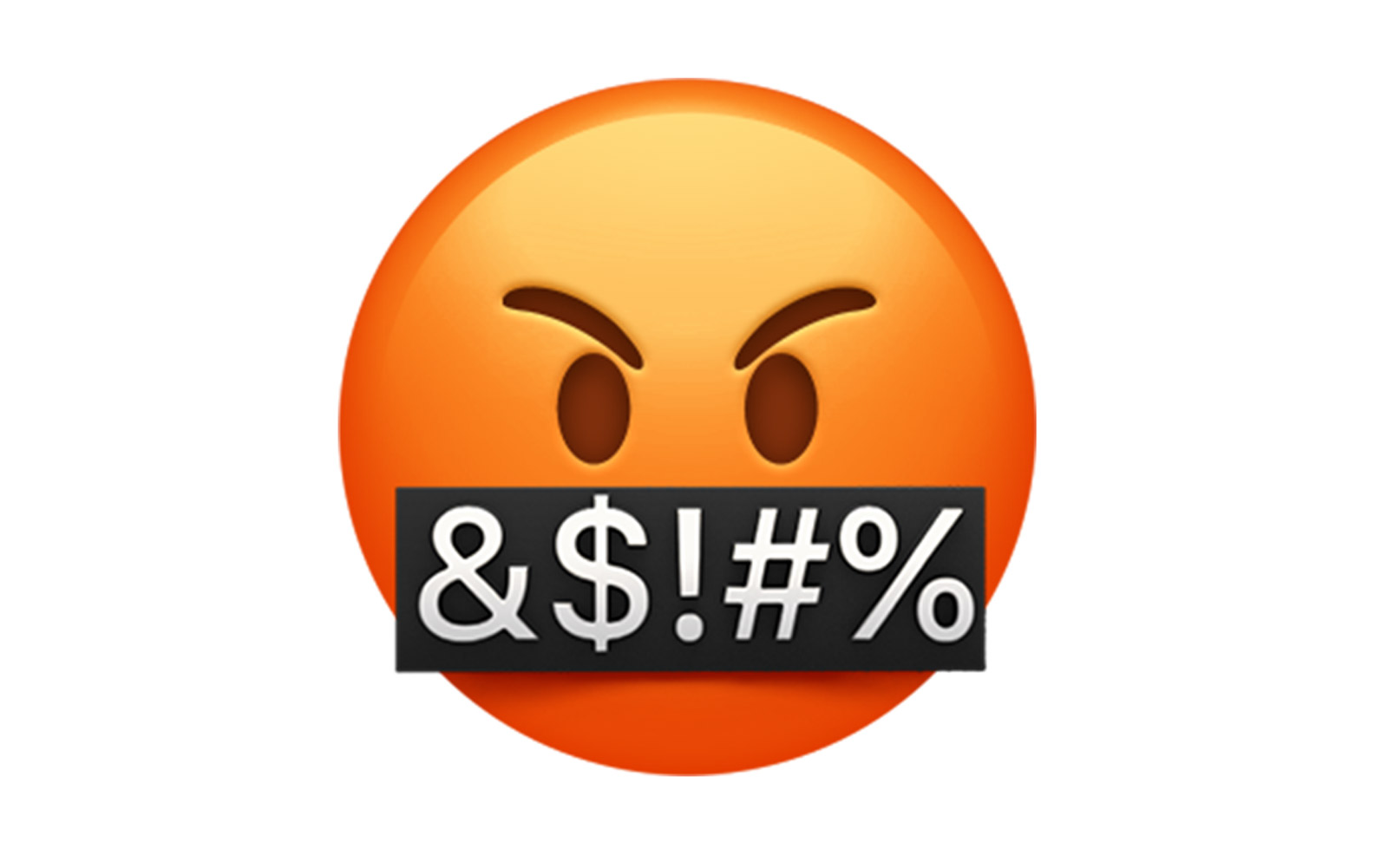 New iPhone emoji: bad mouth