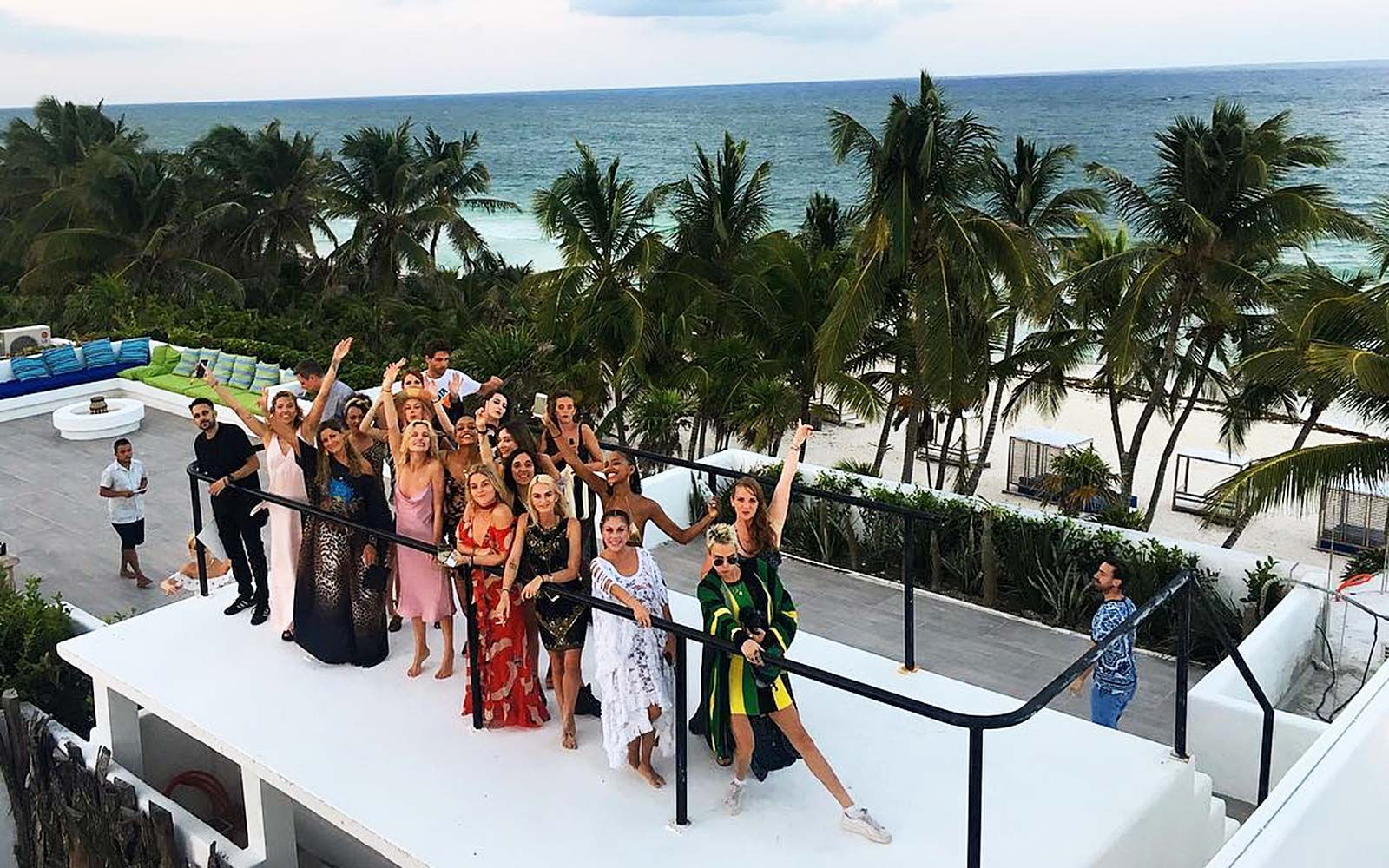 Inside Casa Malca, the Tulum Hotel Where Cara Delevingne Took All Her Model Friends