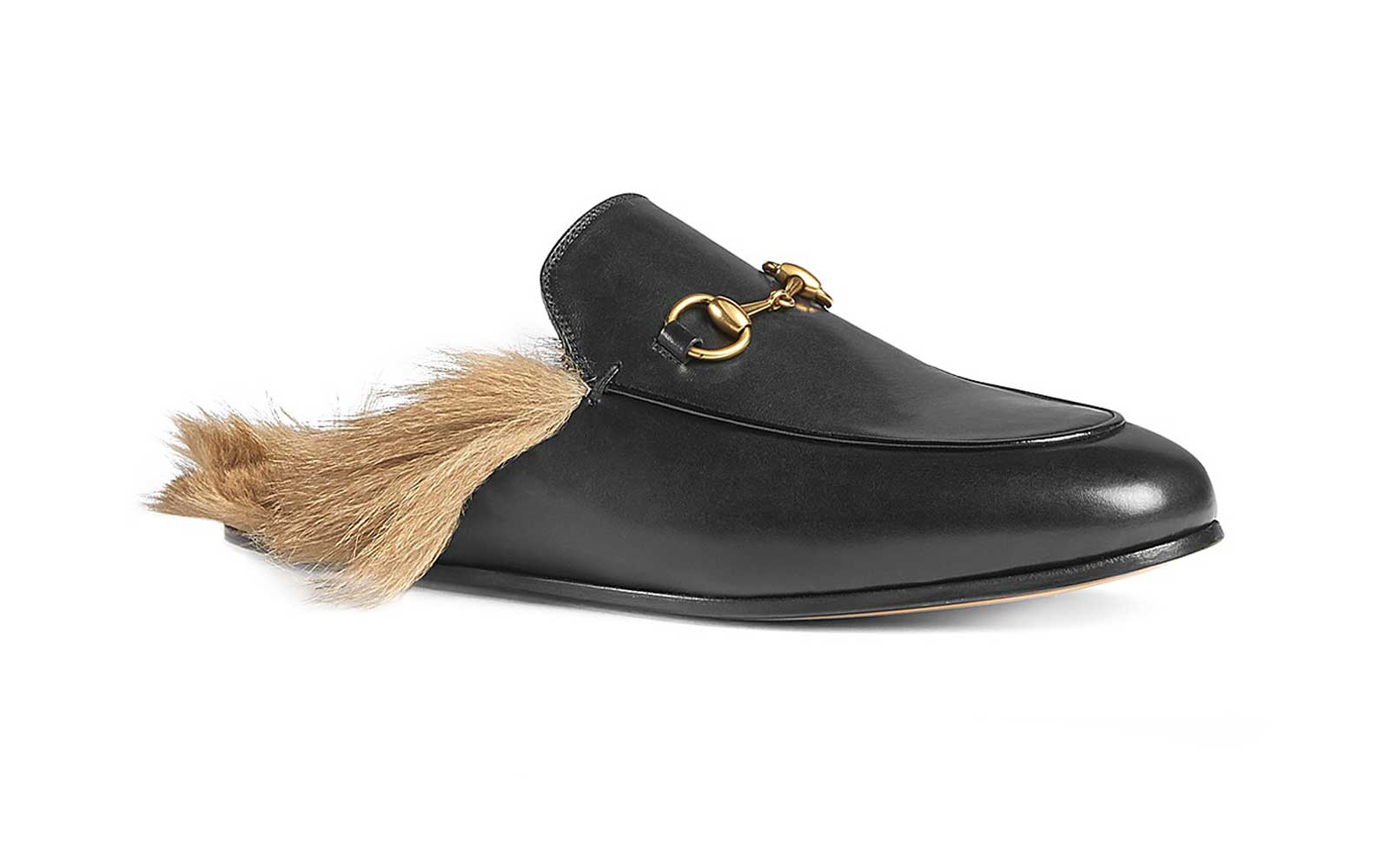 Fur-Lined Loafers